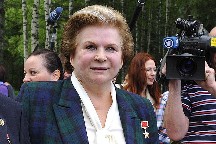 Валентина Терешкова сегодня отмечает свой день рождения.