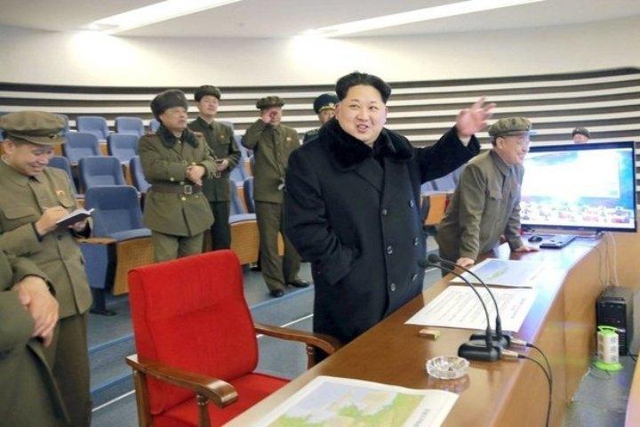 Ким Чен Ын осмотрел работу атомного центра