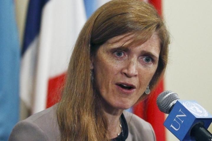 Американский постпред при ООН Саманта Пауэр