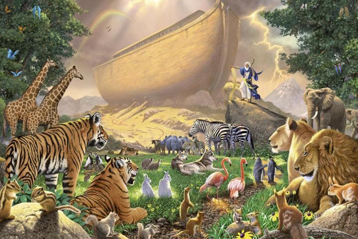 И приказал Бог Ною покинуть ковчег вместе с семейством, всеми скотами, гадами и разойтись по земле, чтобы плодиться и размножаться