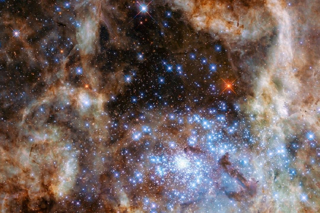 Были найдены звезды, масса которых превышает массу Солнца в 100 раз