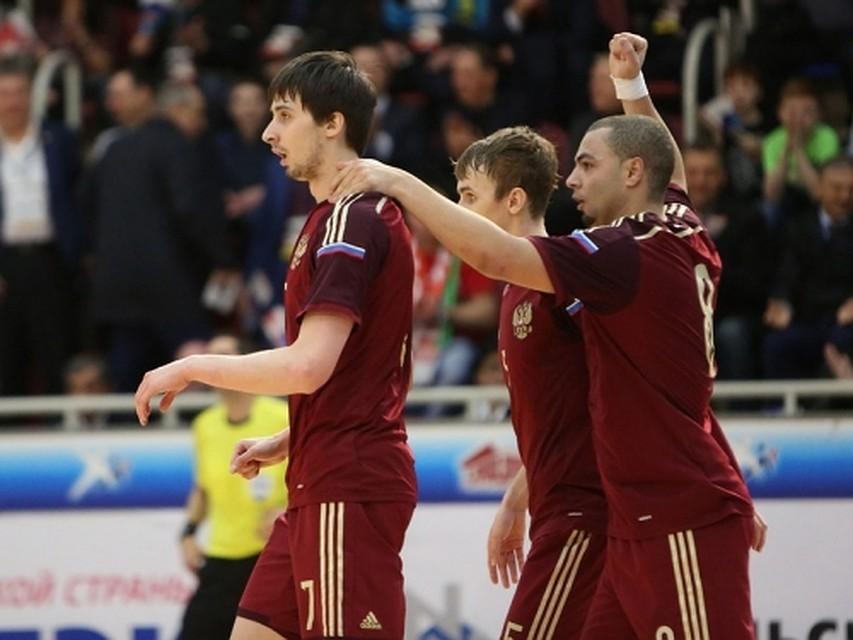 Сборная России по мини-футболу в Тюмени выиграла путевку на мундиаль