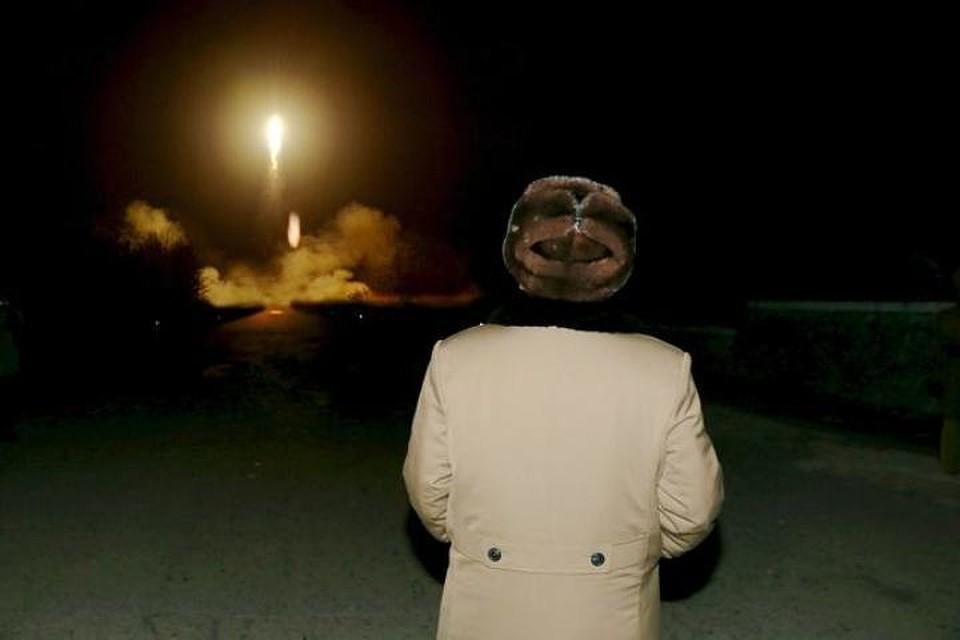 США отследили неудачный запуск ракеты КНДР