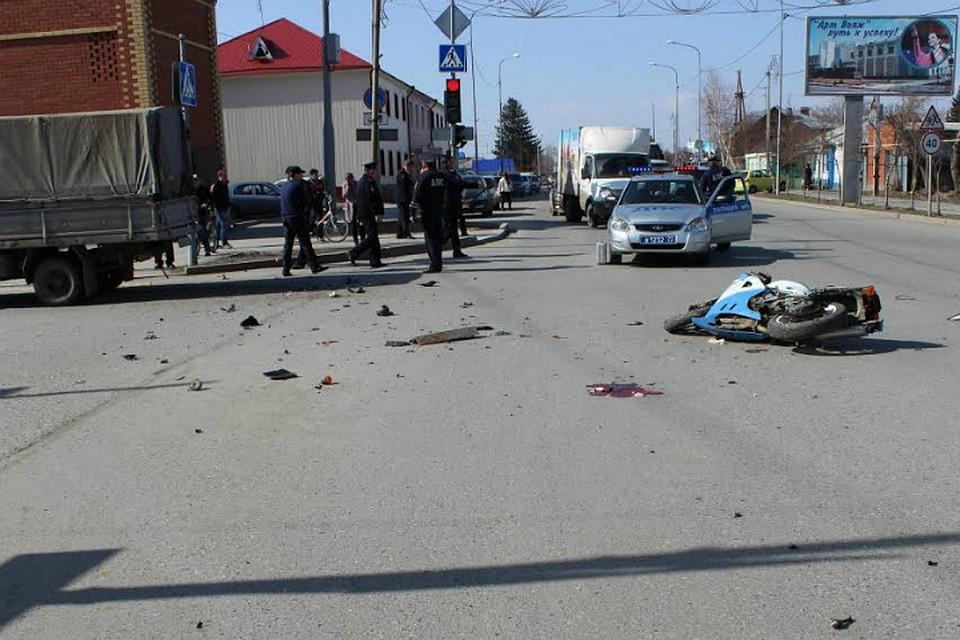 ВЯлуторовске встолкновении с«Газелью» умер мотоциклист— Первая жертва мотосезона