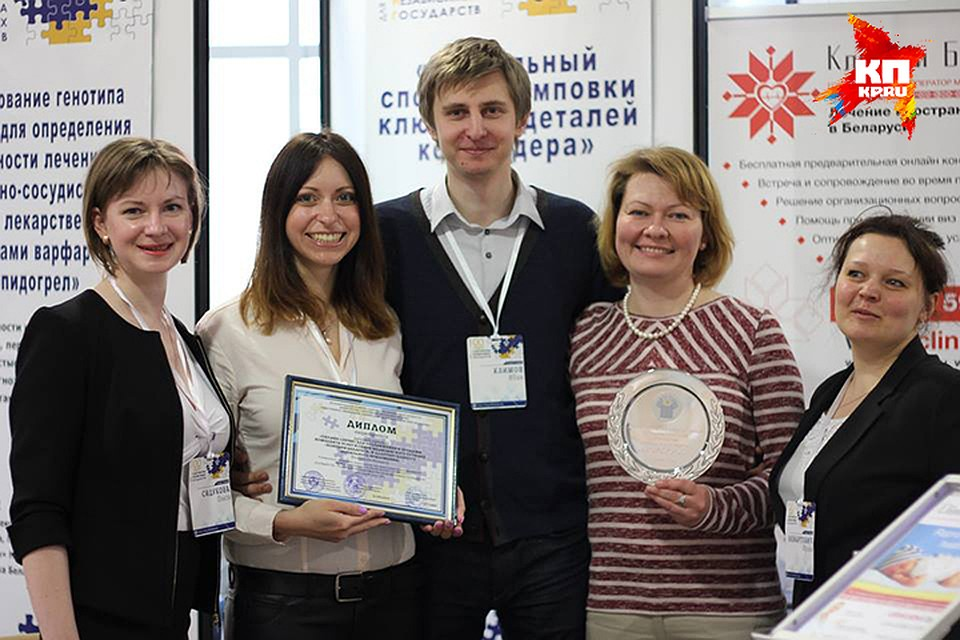 Авторы проекта «Клиники Беларуси». Фото: Мария ЭЛЕШЕВИЧ