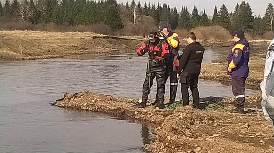 Под Красноярском для поисков утонувшего ребенка перекрывают русло реки Кача