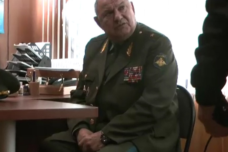 Брянский ряженый генерал дослужился только домайора