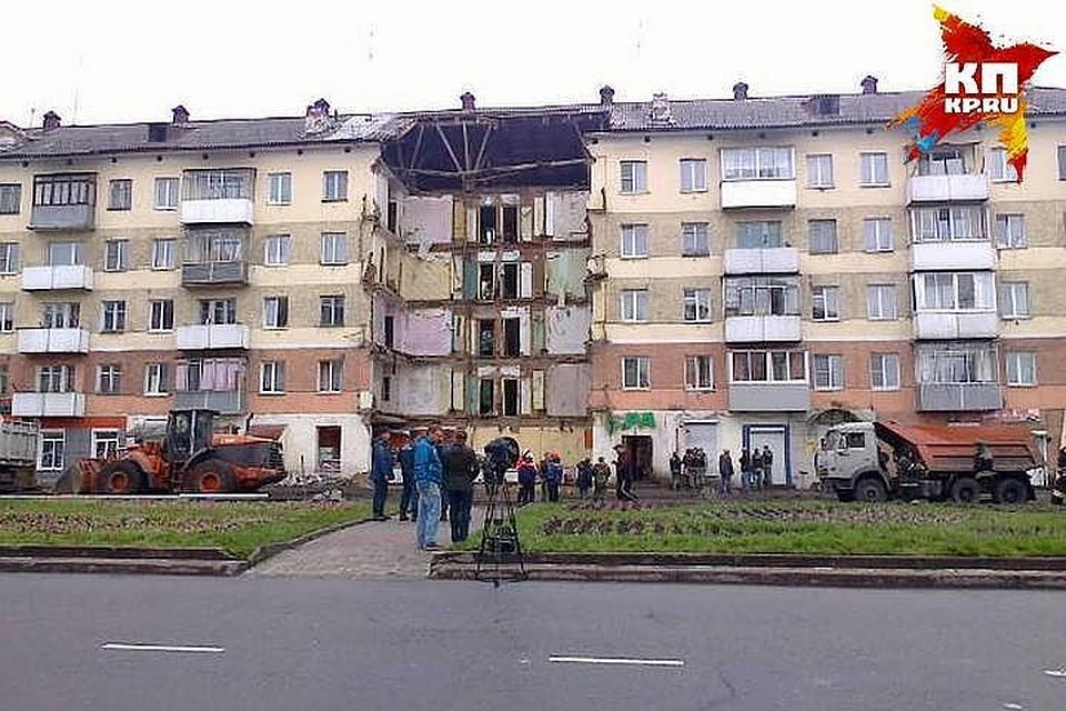 Собственник помещения вобрушившемся доме вМеждуреченске схвачен