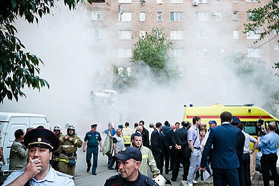 В одной из квартир Оренбурга загорелось и сдетонировало скопление бытового газа. ФОТО Правительство Оренбургской области