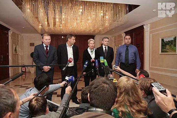 В Минске началась очередная встреча контактной группы по Украине.