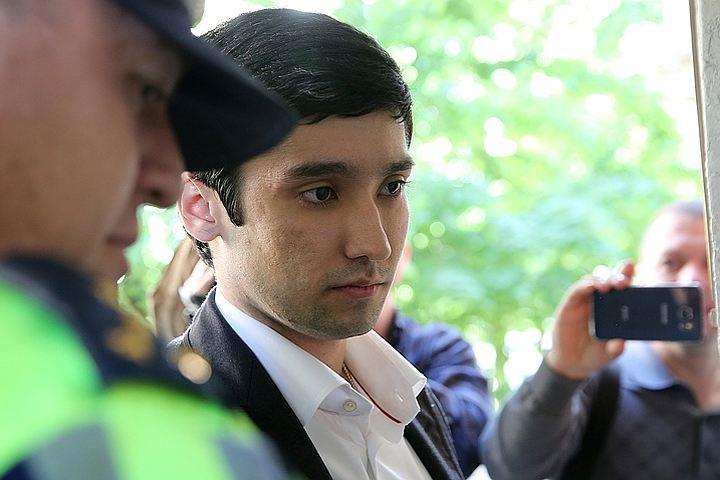 В конце мая сына вице-президента компании «Лукойл» Руслана Шамсуарова отправили под арест на 15 суток. Фото: Михаил Почуев/ТАСС