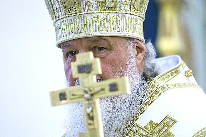 Патриарх Московский и Всея Руси Кирилл. ФОТО Александр Щербак/ТАСС