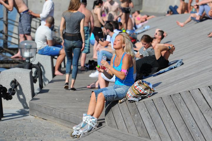 Скорее всего, 26 июня станет в столице самым теплым днем с начала года.