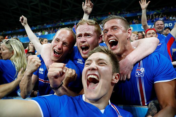 Викинги за все четыре матча на Евро нанесли всего 21 удар