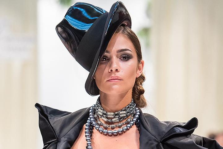 Анастасия Шубская дебютировала на подиуме. ФОТО предоставлено организаторами.