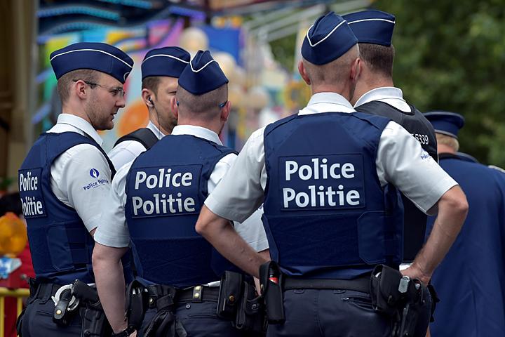 Нападение смачете наполицейских вБельгии назвали терактом