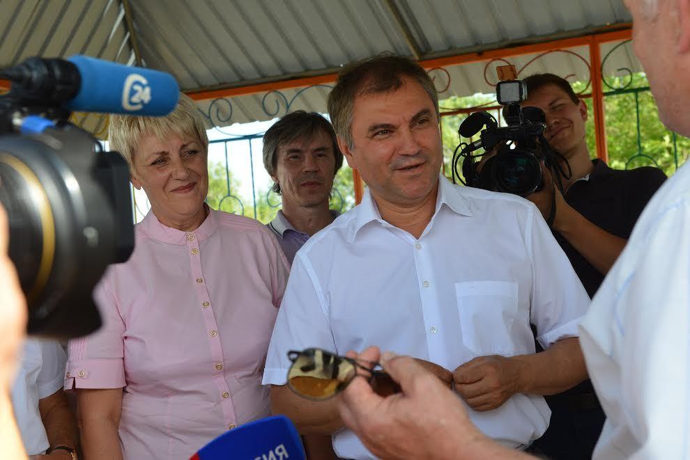 Вячеслав Володин прибыл вСаратовскую область