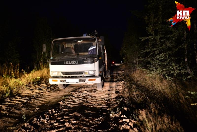 Влесу под Ревдой пешеход угодил под грузовой автомобиль