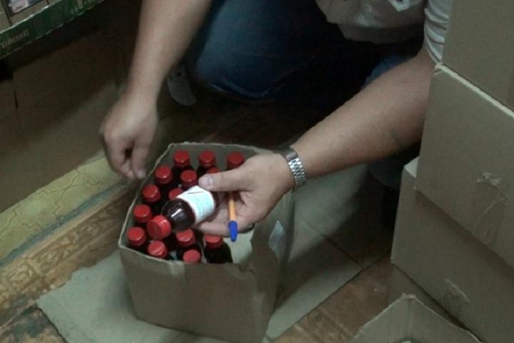 ВВологде милиция отыскала практически тысячу бутылок «ночного» алкоголя