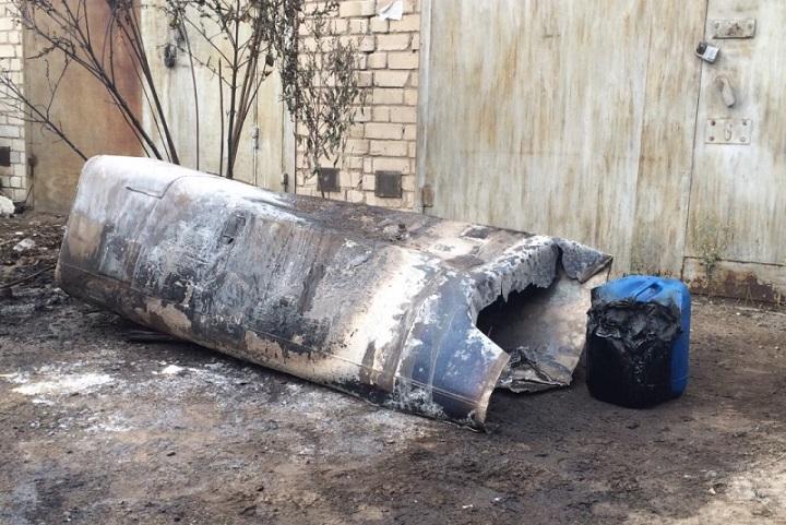 ВВолгограде в итоге взрыва топливного бака грузового автомобиля пострадали люди