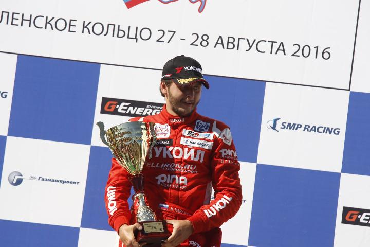 Курский спортсмен Николай Карамышев вновь одержал победу Гонку звезд