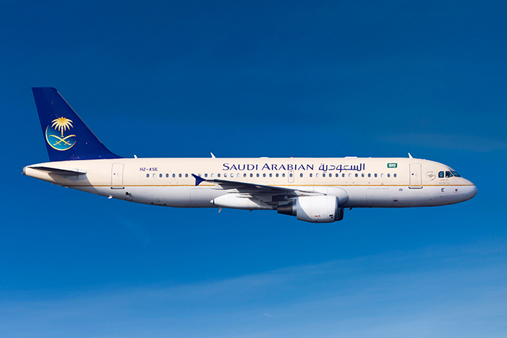 Тревога наборту Saudi Airlines признана ошибочной