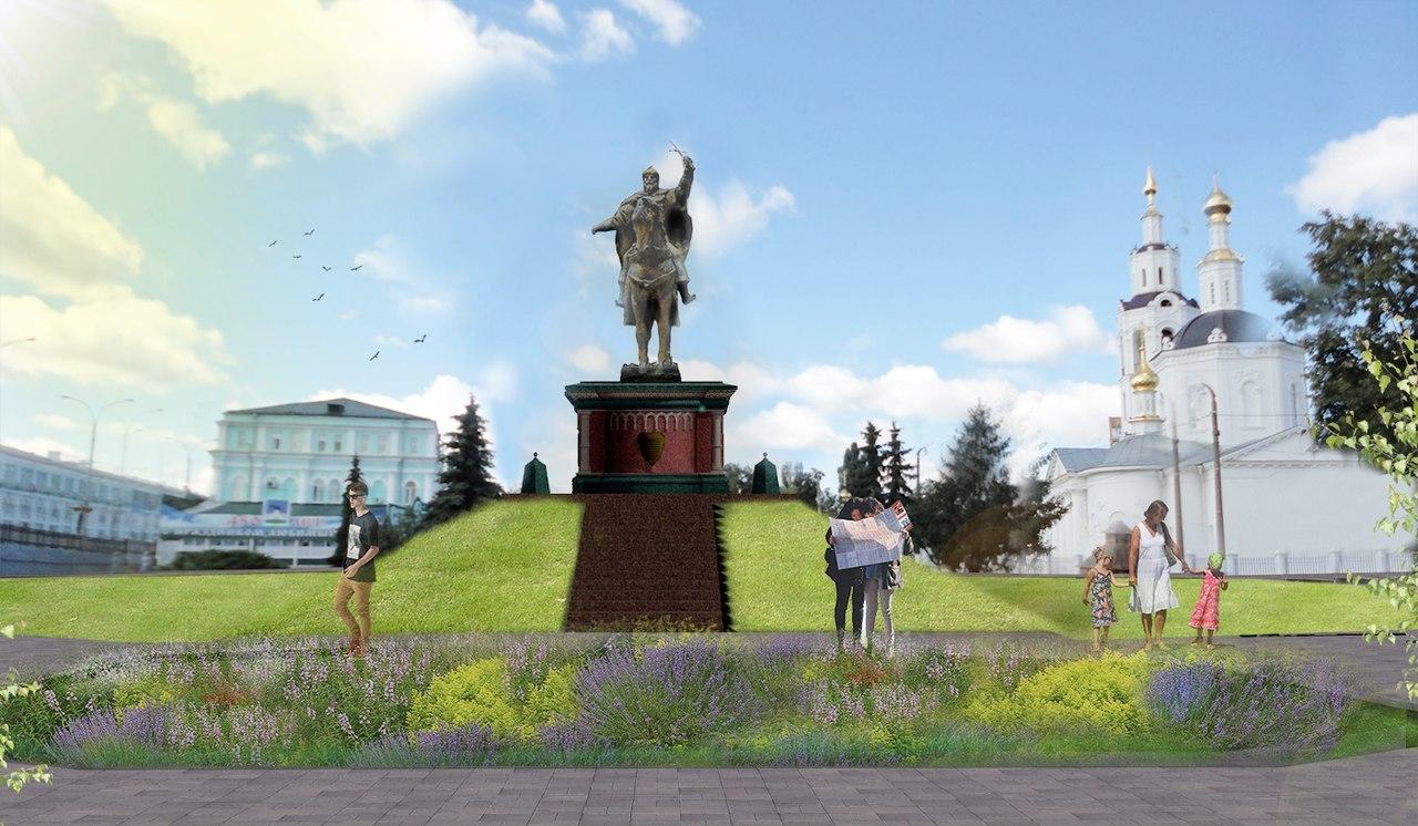 Орловские власти определились сместом для монумента Ивану Грозному