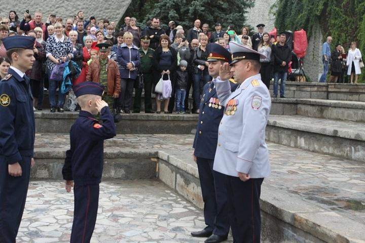 550 молодых граждан Волгоградской области дали клятву кадета