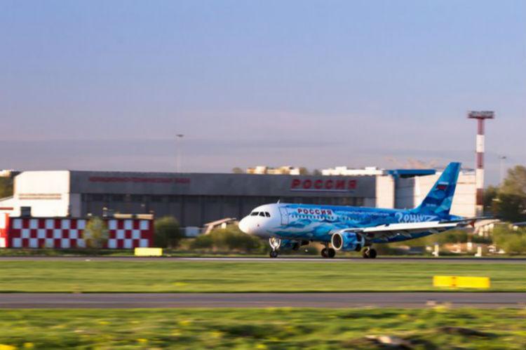 В Тамбов команда полетела на фирменном самолете (Фото: сайт ФК Зенит)