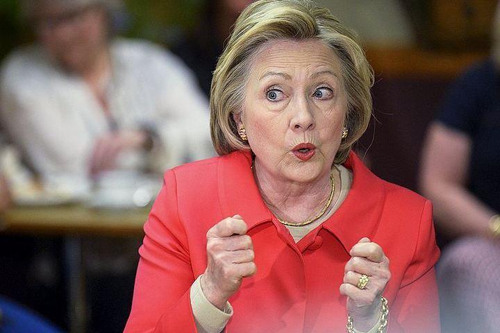 Клинтон вбытность госсекретарем забыла в РФ секретный документ