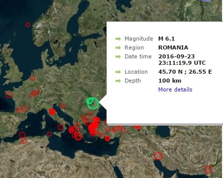 Каких-либо последствий землетрясения вКарпатах в Беларуссии незафиксировано— МЧС