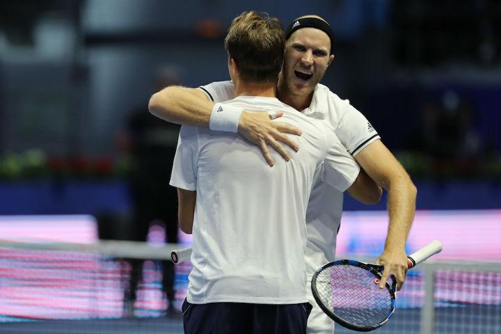 St. Petersburg Open: Инглот иКонтинен завоевали титул впарном разряде