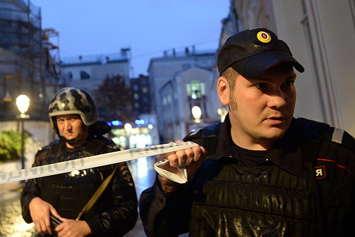 В российской столице взяли взаложники иностранца