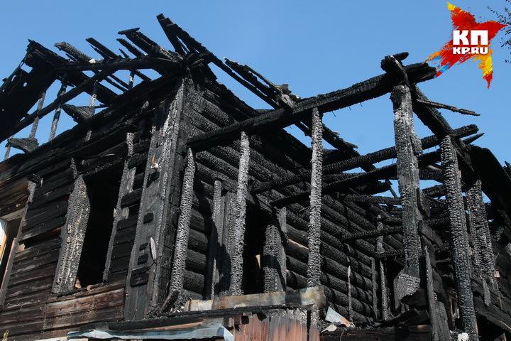Трое детей погибли впожаре в личном доме под Псковом