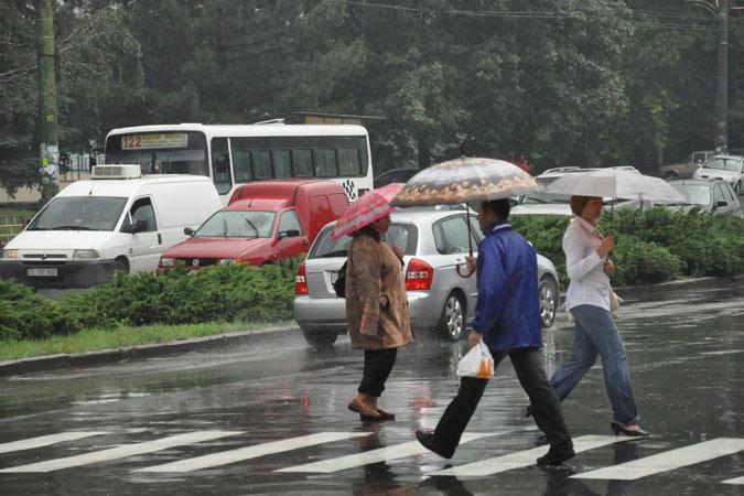 В субботу в Молдове ожидаются дожди.