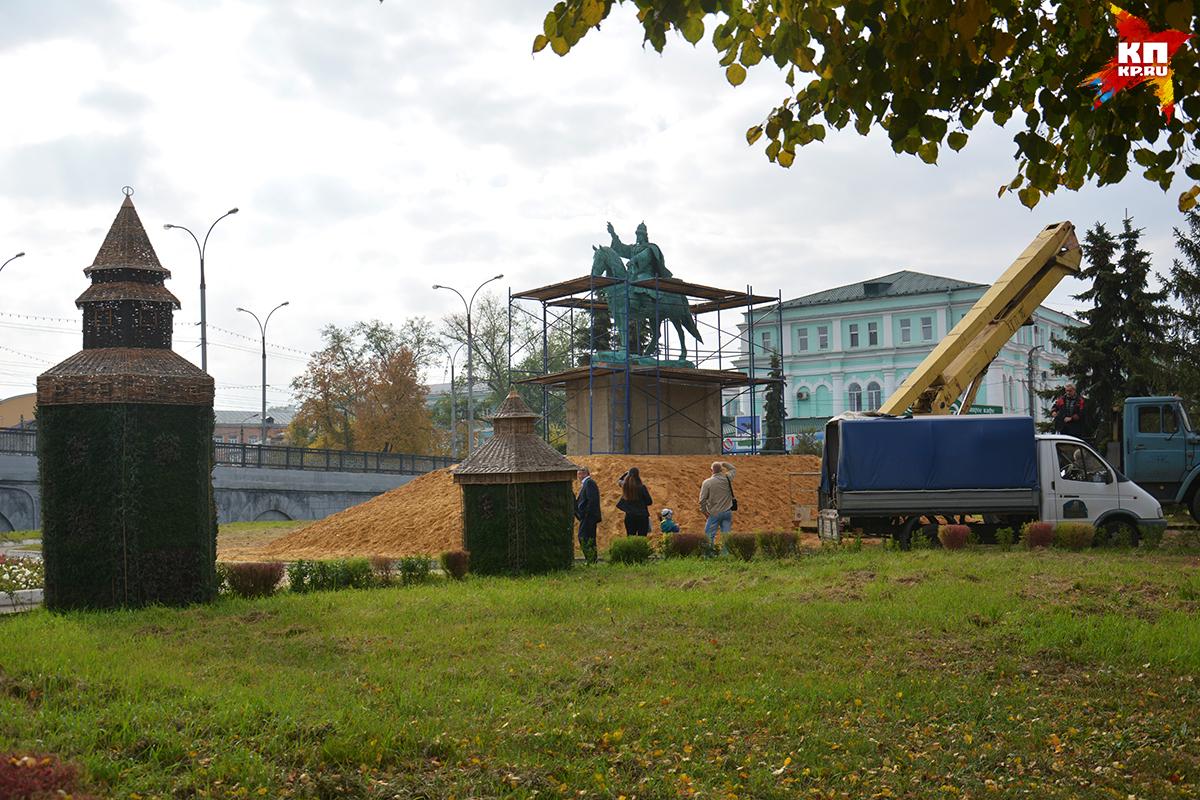Монумент Ивану Грозному установили вОрле нанабережной