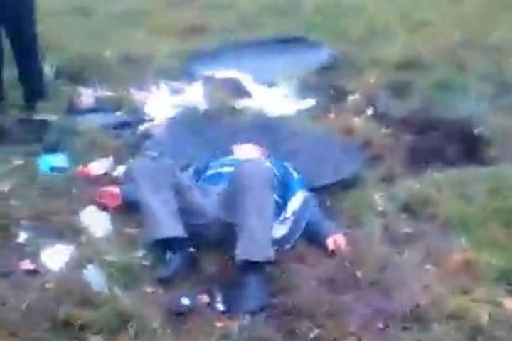Кошмарная авария вБашкирии: «Фольксваген Тигуан» опрокинулся вкювет, есть погибшие
