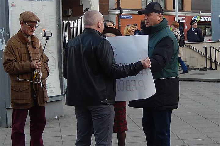 Планы у активистов грандиозные: они хотят сделать «Прогулки оппозиции» еженедельной акцией. ФОТО Марк Гальперин Vkontakte