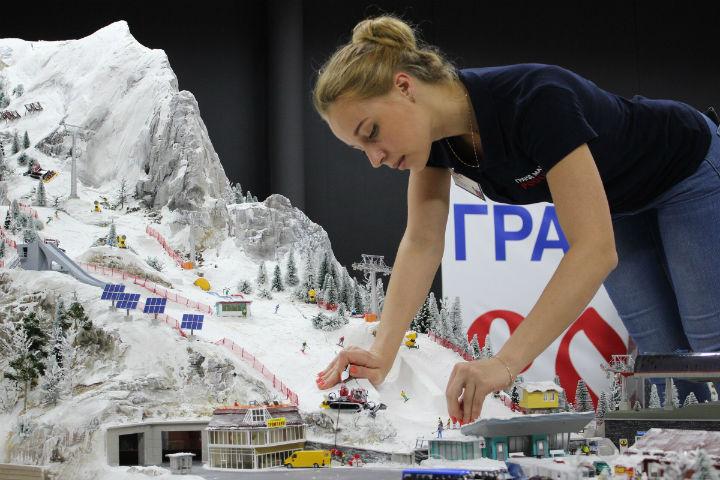 В Нью-Йорке покажут Россию в миниатюре Фото: Гранд Макет Россия