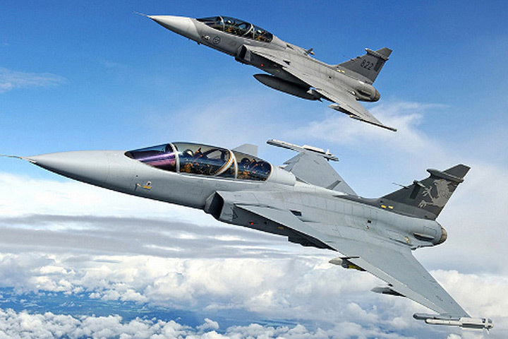 Воздушный патруль НАТО патрулирует небо стран Балтии. Фото: с сайта arms-expo.ru