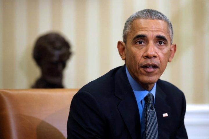 Пока еще действующий президент США Барак Обама назвал высказывания Дональда Трампа о женщинах «отвратительными»