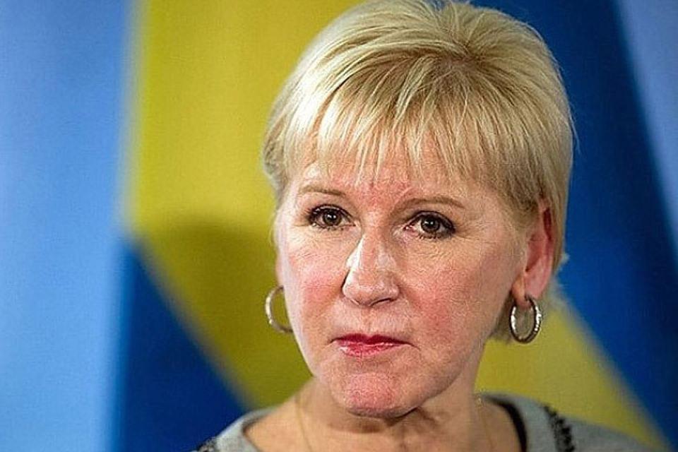 Глава МИД Швеции Маргот Вальстрём. Фото: с сайта politobzor.net