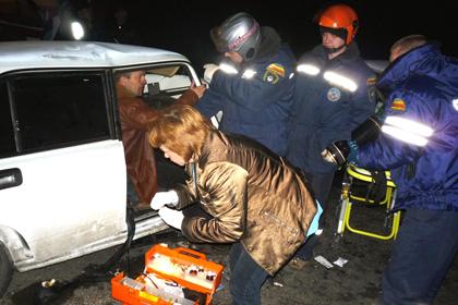ВРостовской области случилось массовое ДТП сучастием 5-ти машин