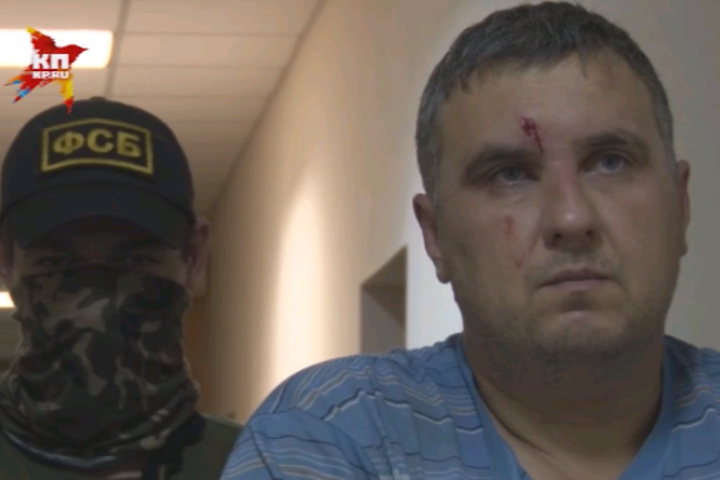 """Задержанный оперативниками ФСБ украинец Евгений Панов считается главарем банды """"крымских диверсантов"""""""