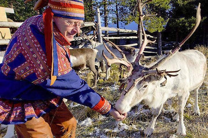 В Финляндии права саамов в области поддержки и сохранения их культуры улучшились. Фото: с сайта stena.ee