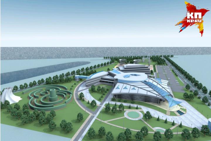 Проект океанариума наБору одобрен Градостроительным советом Нижегородской области