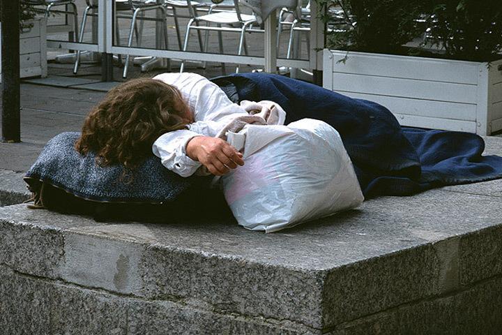 В Финляндии проходит акция «Ночь бездомных».