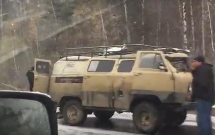 Семь машин столкнулись утром натрассе Екатеринбург
