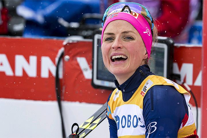 Олимпийская чемпионка по лыжам Тереза Йохауг.
