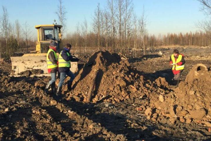 ВКрасносельском районе снова незаконно складируют опасные отходы
